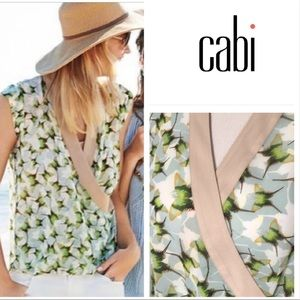 🌺2 for $25! Cabi Butterfly wrap top #234